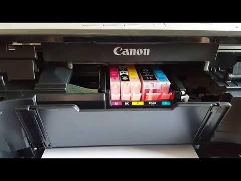 Canon Pixma Mg5750 Druckkopf Ausbauen Youtube