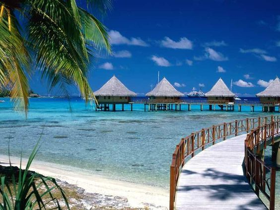 Someday I will stay here...  French Polynesia