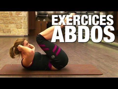 Fitness Master Class - Exercices abdos - YouTube En français. La chaîne a des dizaines de vidéos d'exercices. 15mn d'effort pour un max de résultat !
