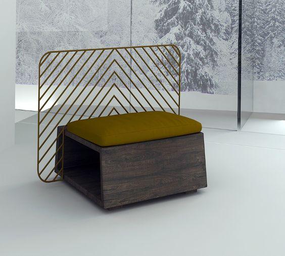 Collection mobilier FOREST par Svetlana Shyian