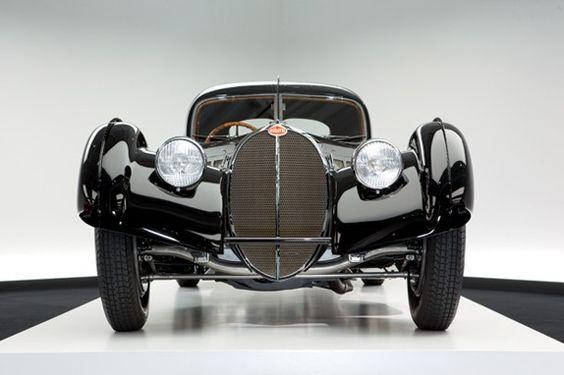 A 1938 Bugatti Atlantic.