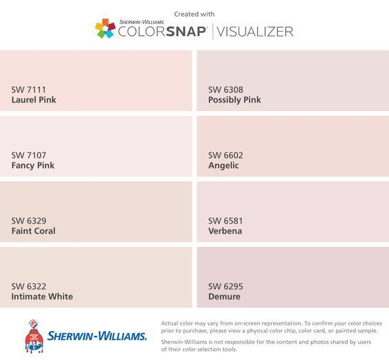 Pin By Linda De Beyer On Colour Palettes And Swatches Pink Paint