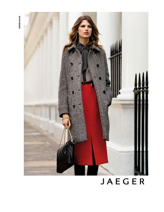 Bette Franke Fronts Jaegers Fall 2012 Campaign by Alasdair McLellan
