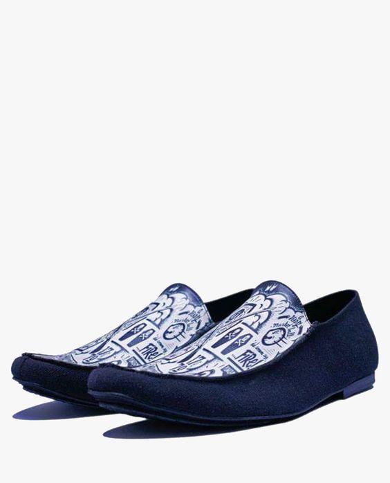 Loafer Azul De Encargo