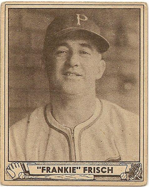 Frankie Frisch - St. Louis Cardinals - 1947