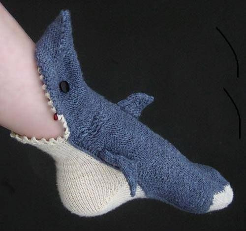 Shark socks gift idea- want to get these for my brother