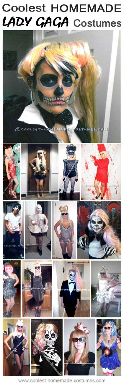 Coolest Lady Gaga Halloween Costumes - Homemade Costume Contest