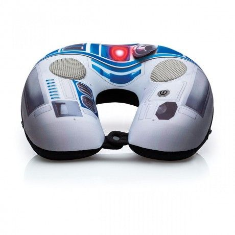 Almofada Massageadora Speaker Star Wars R2d2
