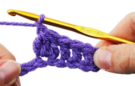 Crochet Knitting Stitch Guide : Crochet Cluster Stitch - Crochet Guru Stitch Guide Knitting ...