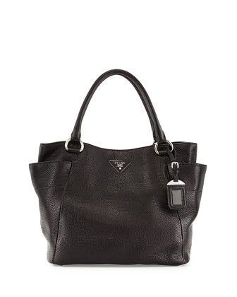prada red leather wallet - Daino+Side-Pocket+Tote+Bag,+Black+(Nero)+by+Prada+at+Neiman+Marcus ...