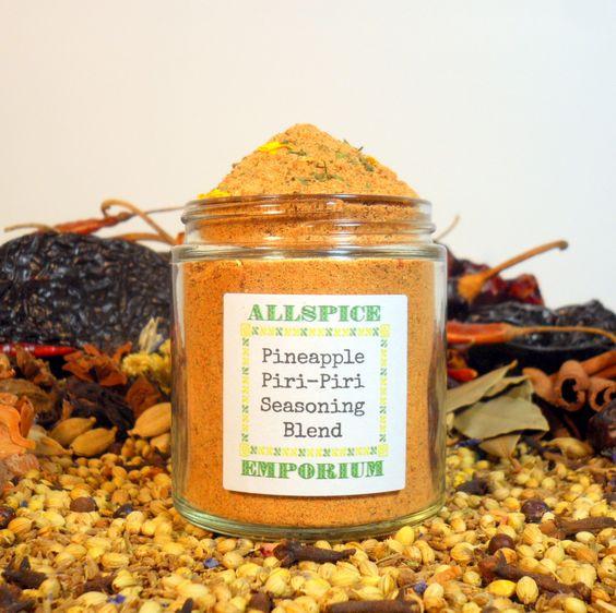 Piri Piri Seasoning Blend Latin American Brazilian Spice Mix Homemade ...