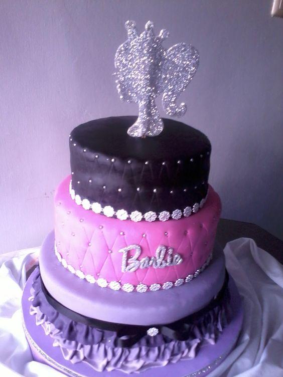 #barbie#cake#fondant#pastel
