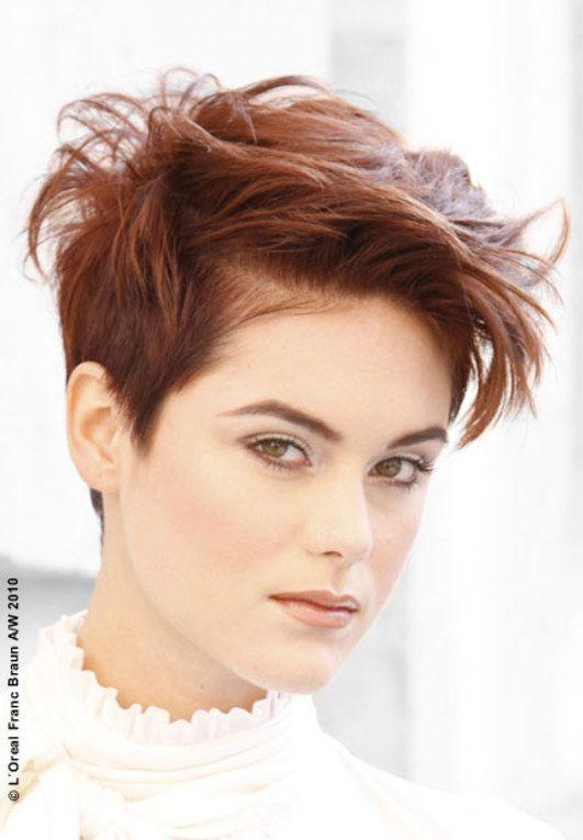 Frisuren: kurz