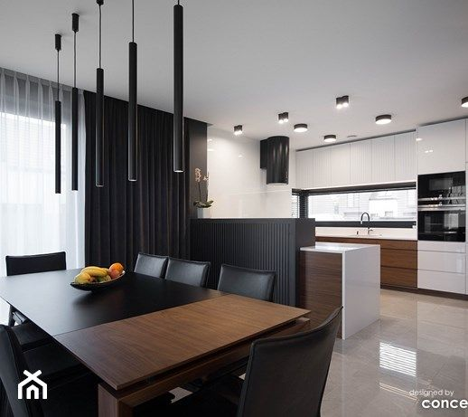 Aranzacje Wnetrz Jadalnia Kuchnia I Jadalnia Conceptgroup Przegladaj Dodawaj I Zapisuj Najlep Modern Kitchen Cabinet Design Home Kitchen Cabinet Design