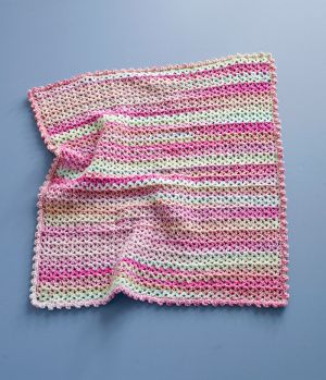 Crochet Baby Blanket Patterns Variegated Yarn : Stripes, Babies and Lion brand on Pinterest