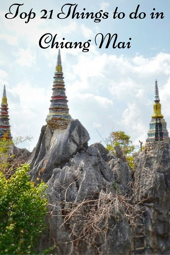 Read my guide on the Top 21 Things to do in Chiang Mai! #Thailand #travel…
