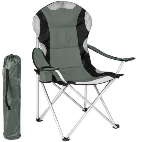 Chaise De Camping Housse Pliante Fauteuil De Camping Pliable Siege De Plage Gris Ebay Camping Chairs Chair Folding Chair