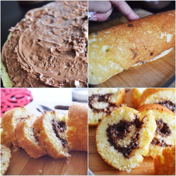 3 Ingredient Roll Cake
