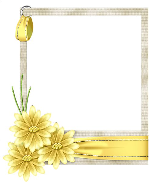 yellow frame png gallery frames flo frame yellow marcos y bordes pinterest galleries scrapbooking and clip art - Yellow Frame