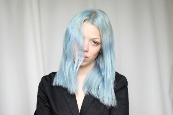 Masterclass: Temporary colour|organic colour systems,blue hair,pink hair,lilac hair,green hair,pastel hair,hair musing | Glasshouse Journal