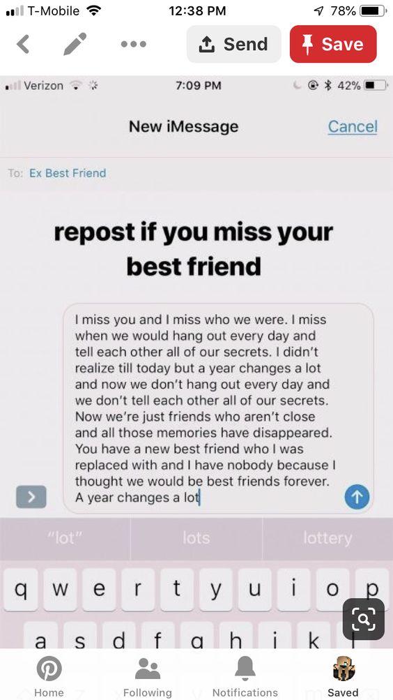 I M Missing My Friend Boy Best Friend Quotes Friends Quotes My Best Friend Quotes