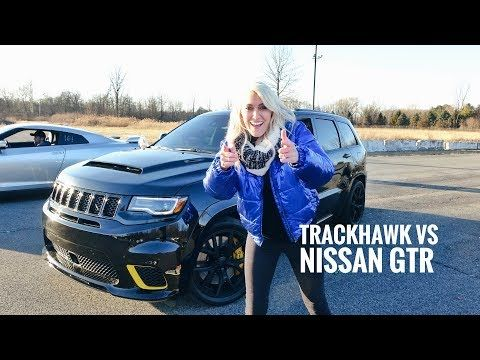 World S Most Powerful Suv Drag Race Trackhawk Jeep Youtube