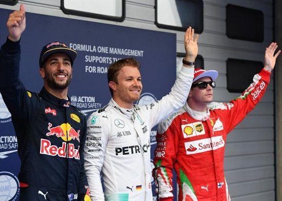 El alemán se aseguró una nueva pole tras marcar el mejor tiempo en la sesión de clasificación.