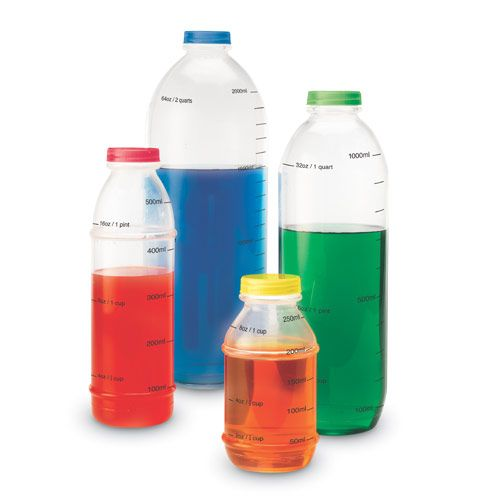 Liter Measurement Set Measurement Eai Education Reusable Water Bottle Bottle Drink Bottles