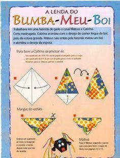 Bumba meu boi origami: