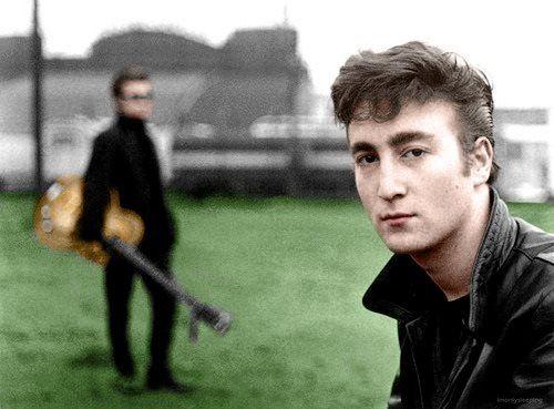 John Lennon Hamburg 1960