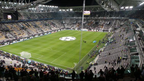 Juventus Stadium, Turín, Italia. Capacidad 41.000 espectadores, Equipo local Juventus Football Club. Juventus vs Real Madrid, Champions League.