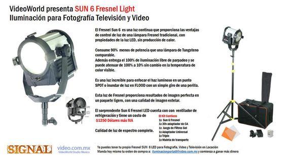 Lamparas de LED para estudios de TV Televisoras, Salas de Prensa y Universidades Iluminación profesional