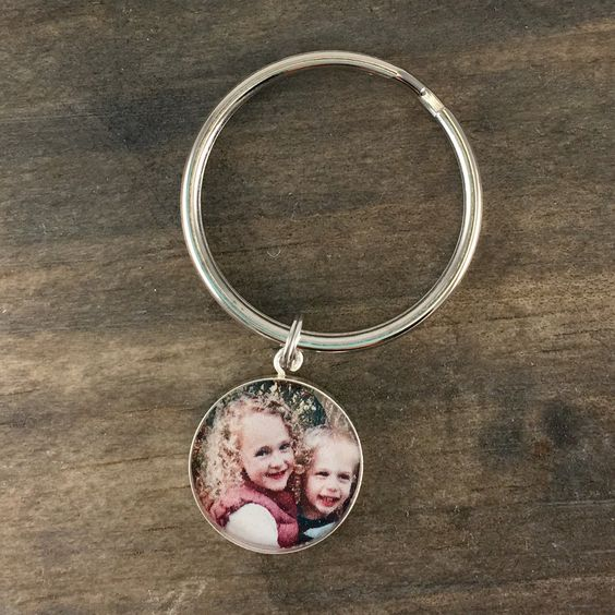 Keepsake Custom Photo Keychain
