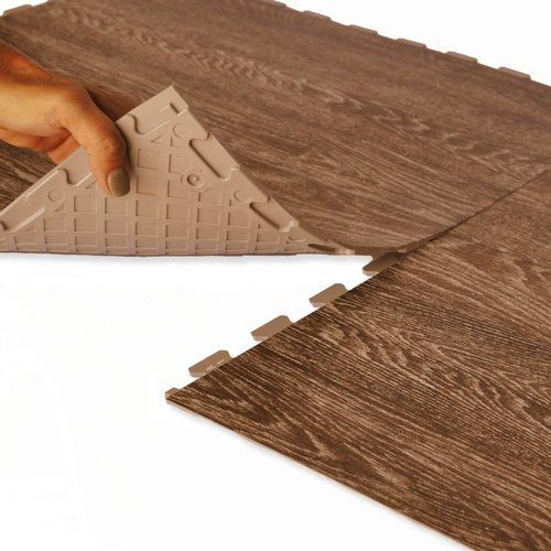 Perfection Floor Wood Grain Tiles A Luxury Vinyl Tile With Hidden Interlocking Tabs Easy Do It Yourself Install Luxury Vinyl Tile Luxury Vinyl Vinyl Tiles