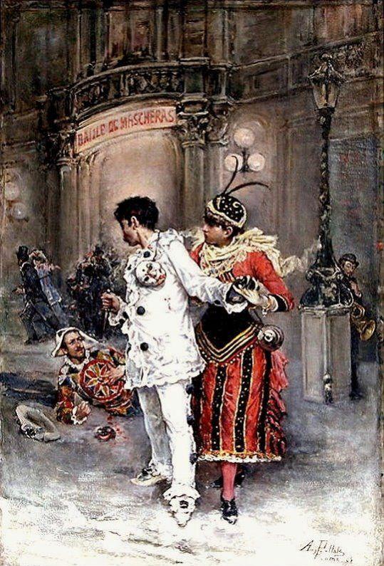 August Pollak - Un ballo in maschera: