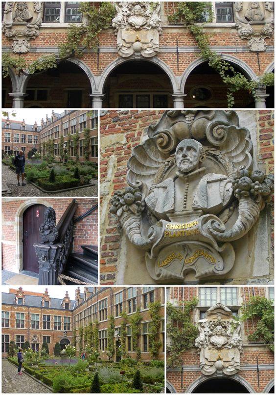 Cortile della casa di Christophe Plantin - Anversa
