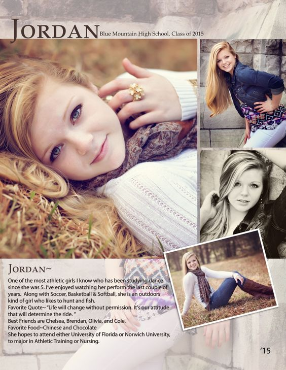 Jordans high school seniors and high schools on pinterest for Senior yearbook ad ideas