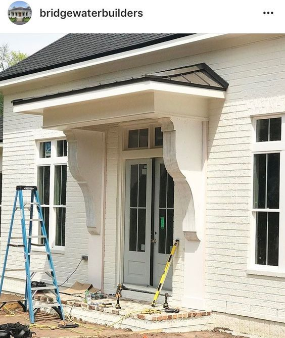 Pin By Alice Smith On Seating Patio House With Porch Front Door Overhang Best Front Doors