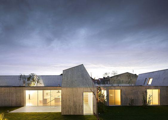 Concrete House in Ovar, Portugal, by Paula Santos - Dezeen