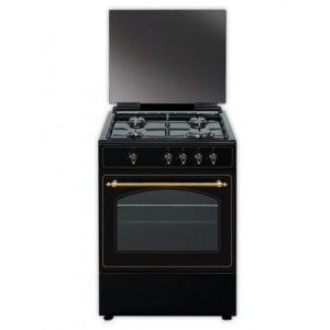 Cocina rústica gas butano Vitrokitchen RU6060B Elegance 60x60cm