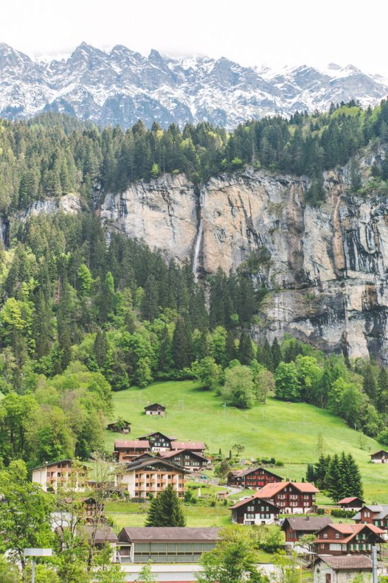 The Most Beautiful Place In The World Lauterbrunnen Switzerland Beautiful Beautiful Places