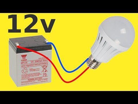 Como Convertir Un Foco Led De 120v A 12v Con Simple Truco Youtube Electricidad Y Electronica Led Diagrama De Circuito Electrico