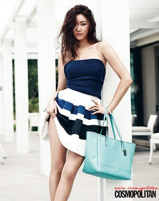Kim Sa-rang (Hangul: 김사랑; born January 12, 1978), South Korean actress. Cosmopolitan Magazine June 2013 Sexy Girl