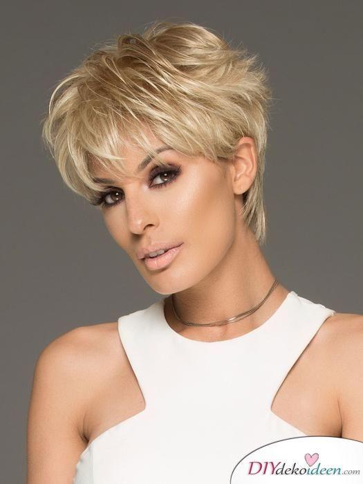 Kurzhaarfrisuren Fur Frauen Ab 50 Elegant Schick Und Modern Kurze Blonde Frisuren Haarschnitt Kurzhaarfrisuren