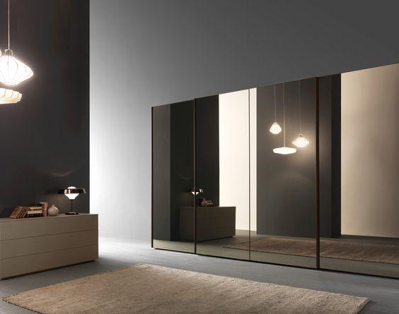 bronze mirror  mirror panels and sliding wardrobe on pinterest