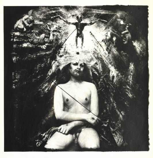 "Joel Peter Witkin, ""Christ in Glory"""