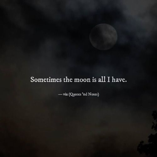 Sometimes the moon is all I have. —via (http://ift.tt/2cgUVT2)