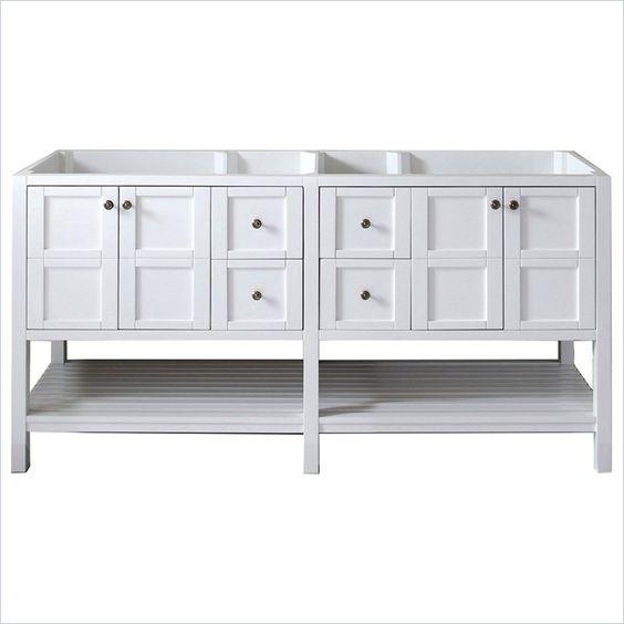 "Lowest price online on all Virtu USA Winterfell 72"" Bathroom Vanity Cabinet in…"
