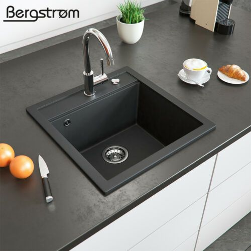 Bergstrom Granit Spule Kuchenspule Einbauspule Spulbecken