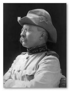The indomitable Teddy Roosevelt.